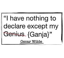 OSCAR WILDE QUOTE  by MeArtHenry