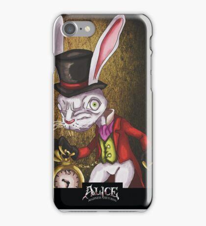 Alice - The White Rabbit iPhone Case/Skin