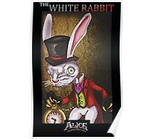 Alice - The White Rabbit Poster