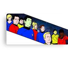 Star Trek TOS crew Canvas Print