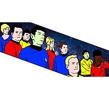 Star Trek TOS crew Photographic Print