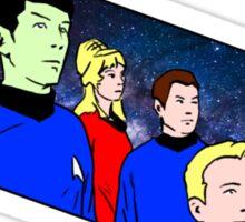 Star Trek TOS crew Sticker