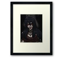 Dark Herzy Framed Print