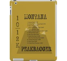 Montana Peak Bagger iPad Case/Skin