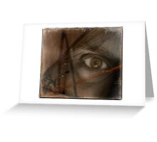 insect eye Greeting Card