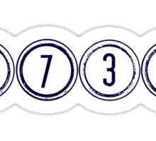 1738! Sticker