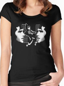the jailhouse rock t-shirt Women's Fitted Scoop T-Shirt