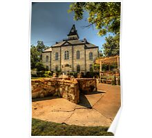 Somervell County Courthouse Square Poster