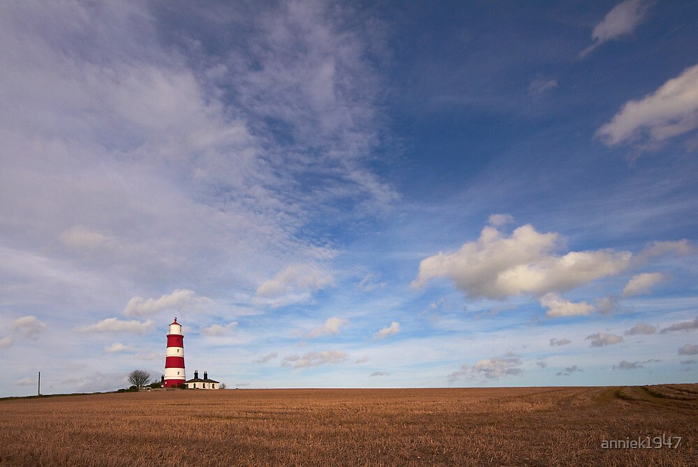 Happisburgh lighthouse by anniek1947