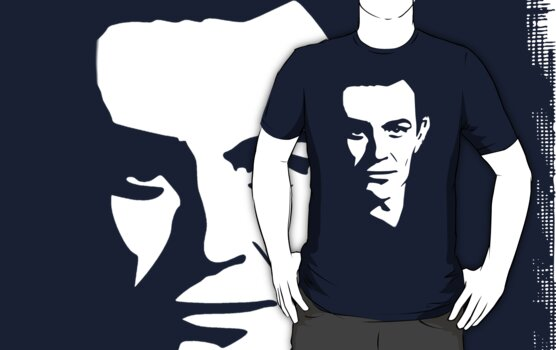 sean connery t-shirt by ralphyboy