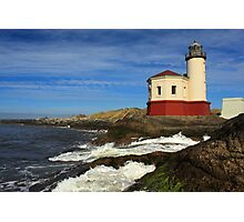 Coquille River Lighthouse At Bandon Photographic Print