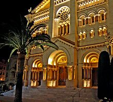 Saint Nicholas Cathedral, Monaco by Al Bourassa