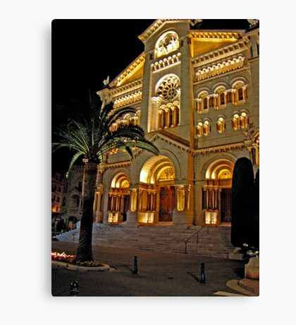 Saint Nicholas Cathedral, Monaco Canvas Print