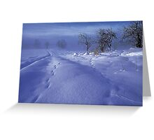 Swedish Winter Greeting Card