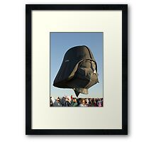 The Force is Moving Framed Print