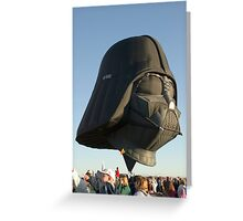 The Force is Moving Greeting Card