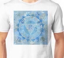 Fifth 5th Chakra Mandala Unisex T-Shirt