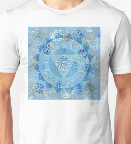 Fifth 5th Chakra Mandala Unisex T-Shirt