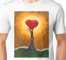 Grounded Open Heart Unisex T-Shirt