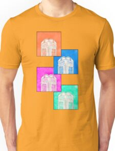 British Phone Booth Pop Art Style Unisex T-Shirt