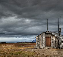 Trappers hut, Spitzbergen by John Tozer