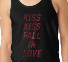 Kiss Kiss Fall In Love Tank Top