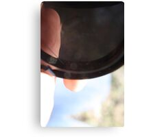 Camera Cap Canvas Print