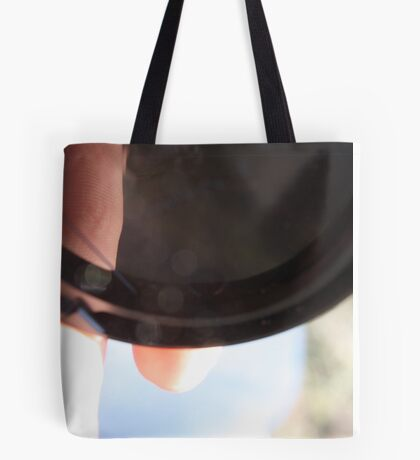 Camera Cap Tote Bag
