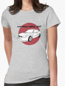 Subaru WRX Impreza STI JDM Decal Womens Fitted T-Shirt