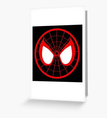 The Ultimate Spider-Man Greeting Card