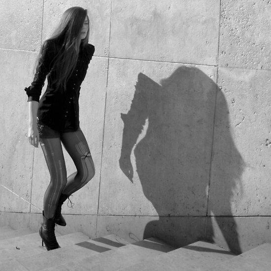 Paris - Fashion victim. by Jean-Luc Rollier
