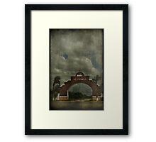El Cedral Framed Print