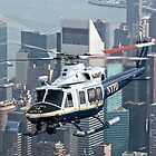 New York Police Aviation Unit by Ken Scarboro