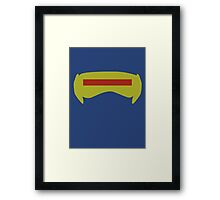 Cyclopes Goggles Framed Print