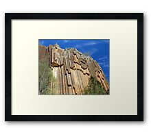 Sawn Rocks - Mt Kaputar National Park, NSW Framed Print