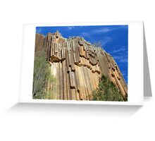 Sawn Rocks - Mt Kaputar National Park, NSW Greeting Card