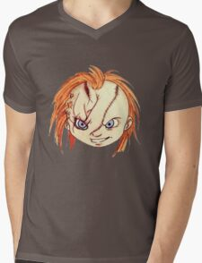 Chucky/ Child's Play Mens V-Neck T-Shirt