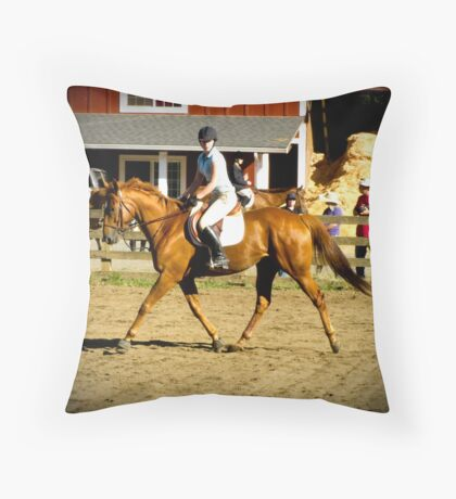 First Show Together Throw Pillow