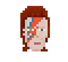 Aladdin Sane Pixel by pixelfaces