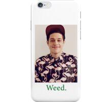 Pete Davidson-- Weed iPhone Case/Skin