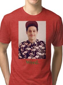 Pete Davidson-- Weed Tri-blend T-Shirt