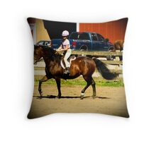 Granddaughter's Big Day! Throw Pillow