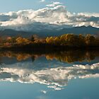 Reflections of Longs Peak, Colorado by Greg Summers