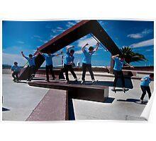 Skateboarding + Photoshop = FUN! Poster