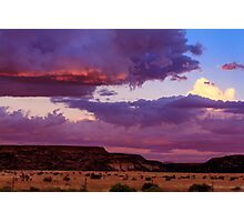 New Mexico Sunset Photographic Print