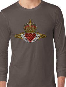 Skeleton Claddagh Color Long Sleeve T-Shirt