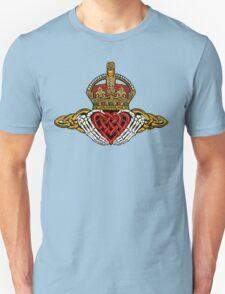 Skeleton Claddagh Color Unisex T-Shirt