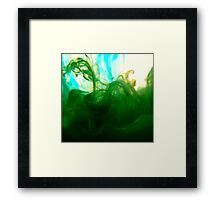Ink explosion 8 Framed Print