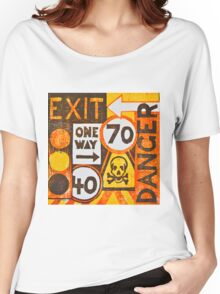 Sign Board Women's Relaxed Fit T-Shirt