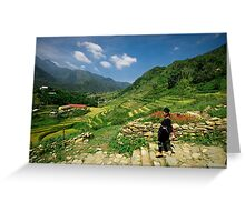 Sapa Countryside Greeting Card